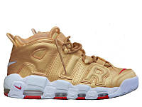 Кроссовки Nike Air More Uptempo Gold, фото 1