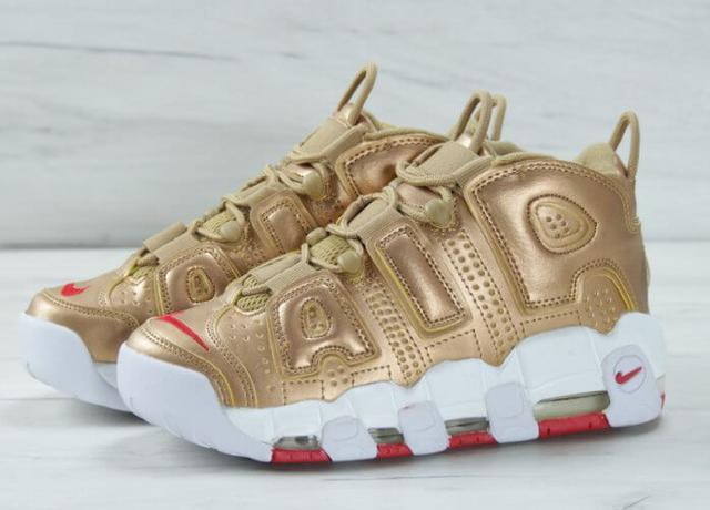 Nike Air More Uptempo Gold