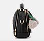 Сумка женская с ручкой через плечо Stylish bag с помпоном , фото 2