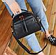 Сумка женская с ручкой через плечо Stylish bag с помпоном , фото 5