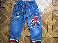 Детские джинсы Капитан для мальчика 1 год 80 cm  Турция  коттон, фото 1