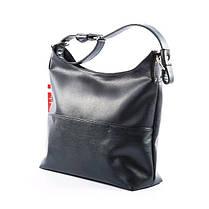 Черная женская сумка на весну 2018, фото 2