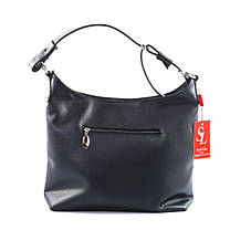 Черная женская сумка на весну 2018, фото 3