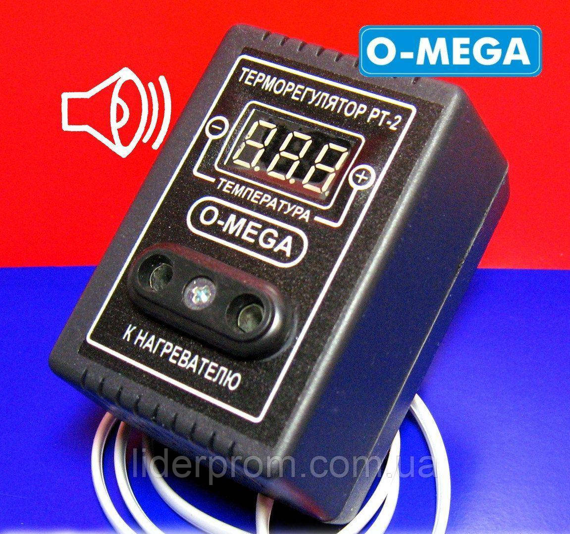 Терморегулятор для инкубатора РТ-2 Омега (O-Mega) цифровой