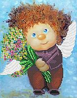 Схема вышивки для бисера Милый ангел