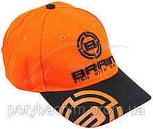 Кепка Brain 58 ц:черный/оранжевый