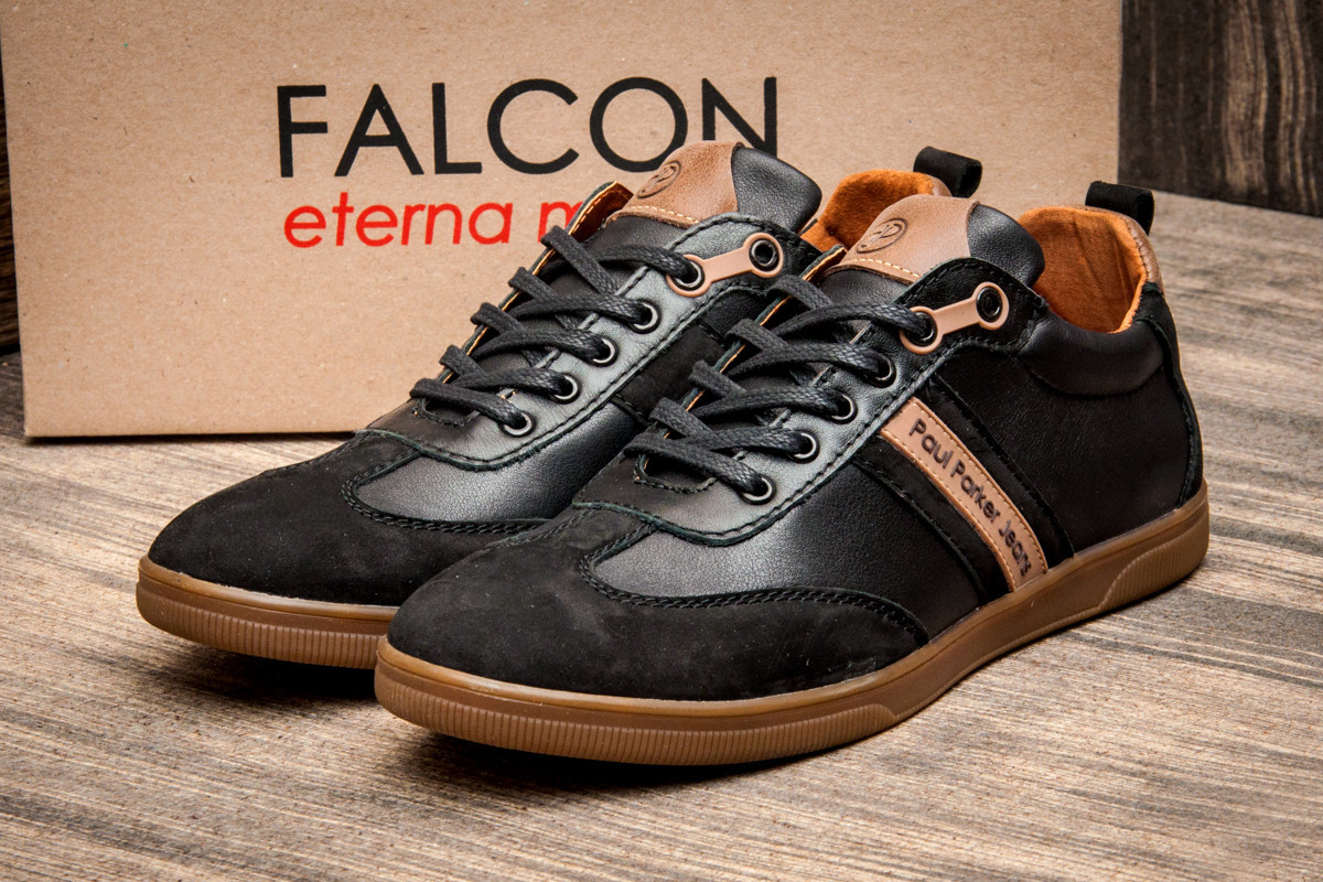 "Туфли мужские Falcon Paul Parker Jeans, 2874 ""Реплика"", фото 1"