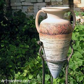 Керамика в ландшафтном дизайне 10