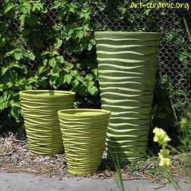 Керамика в ландшафтном дизайне 24