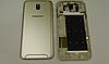 Задняя золотая крышка для Samsung Galaxy J7 2017 J730 | J730F