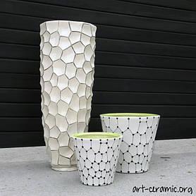 Керамика в ландшафтном дизайне 32