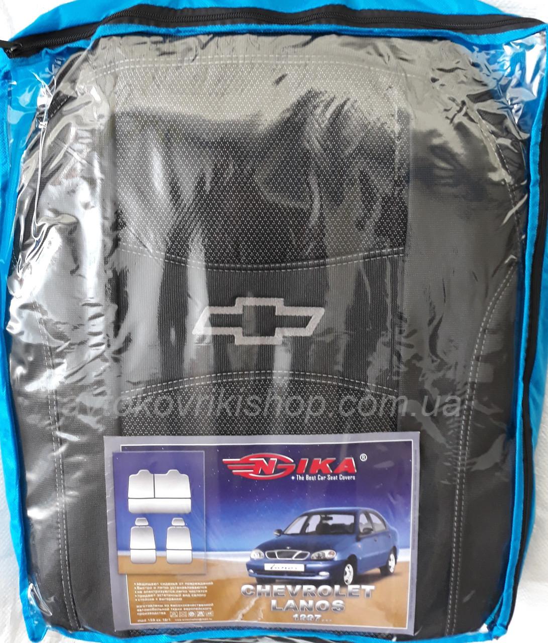 Автомобильные чехлы Chevrolet Lanos 1997- Nika