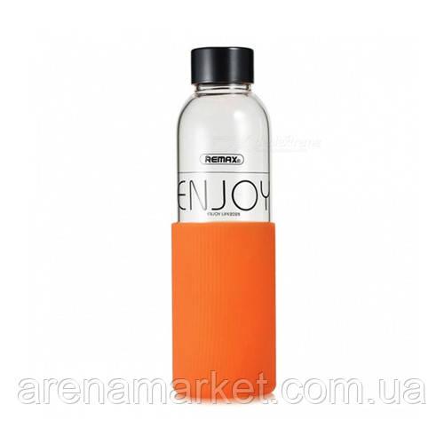Бутылочка для воды Remax RCUP-016 Right Glass 530мл – оранжевый