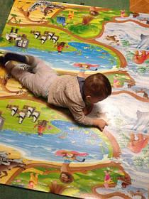 Развивающие детские коврики, киндер-пол.