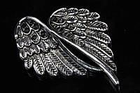 Крылья металлические Fenestraria, материал металл, цвет серебро, фигурки для рукоделия, Товары для творчества, Рукоделие, фигурки металлические