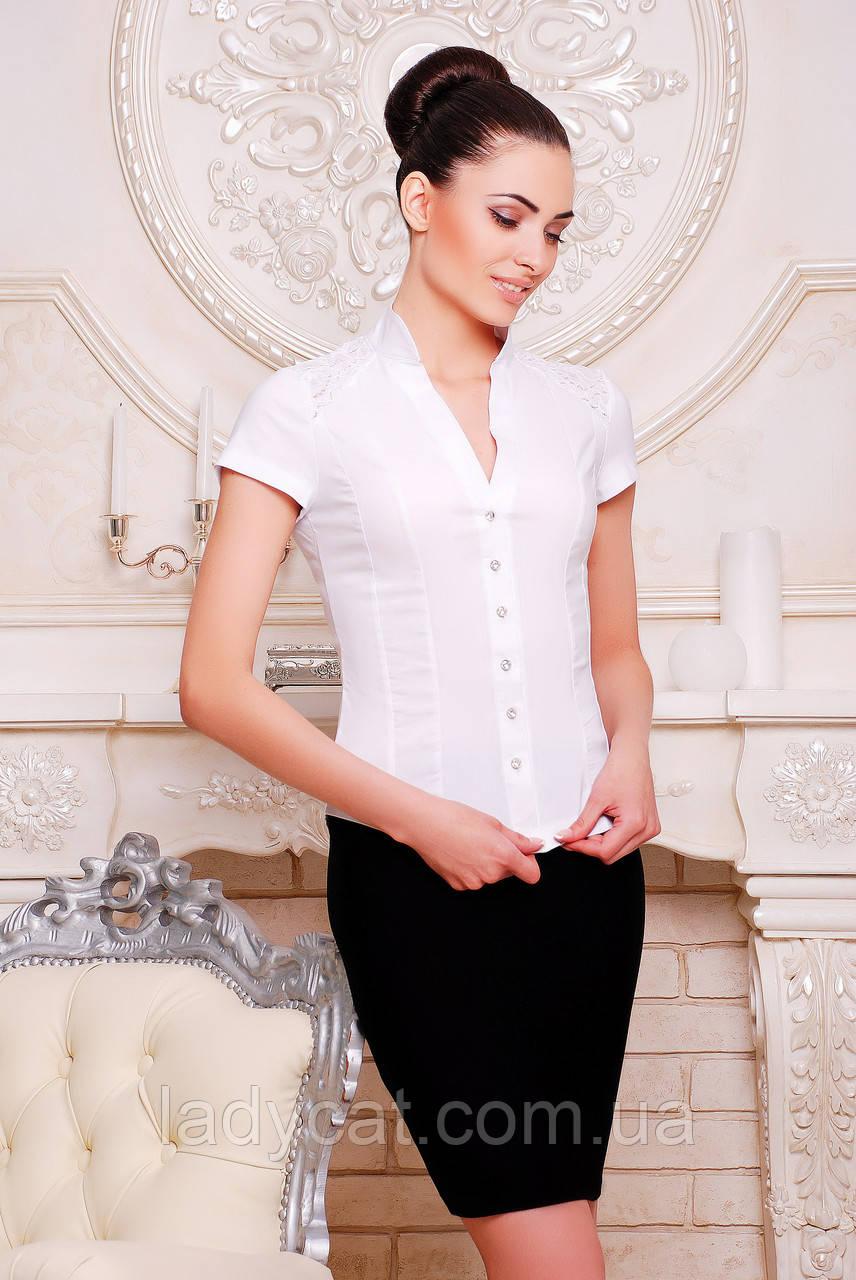"""Рубашка """"Нимфа""""белый"""