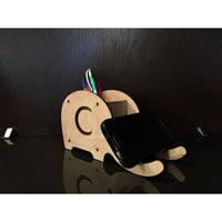 """Подставка для карандашей, ручек и телефона """"Слон"""""""