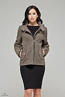 Стильное короткое женское пальто ПВ-48.