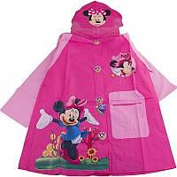 Дождевик для девочки с капюшоном Минни Маус CEL-32