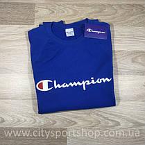 Champion свитшот синий • Женский и мужской • Бирки и Живые фотки (Размер М), фото 3