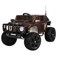 Детский электромобиль Hummer M 3570 EBLRS-17: 12V 10A, 70W, 7 км/ч, EVA - BROWN PAINT - купить оптом , фото 1
