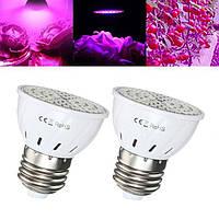 Лампочка для растений светодиодная E27 5w 72 LED