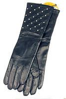 Женские перчатки Shust Gloves M кожаные (711-M)