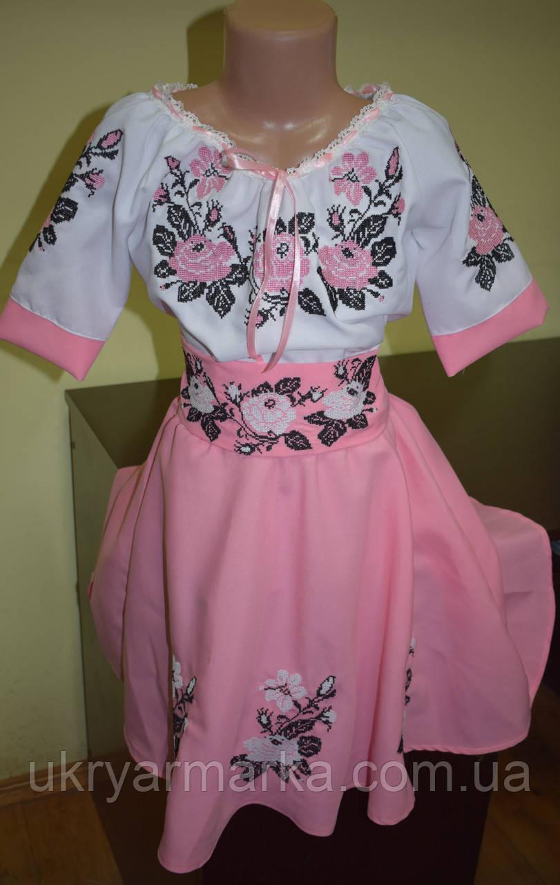 """Вишите плаття для дівчаток """"Посмішка троянди"""""""