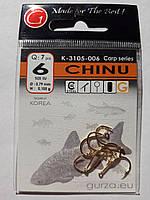 Крючки Gurza chinu gold № 6