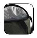 Матерчатое ведро с крышкой на молнии Collapsible Bait Bucket, insulated, 31x25cm, фото 2
