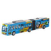 Автобус HR899_78 (24шт) инерционный, 54,5см, 2 цвета, в слюде, 56,5_12,5_9,5см