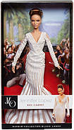 Коллекционная кукла Барби Дженнифер Лопес Красная Ковровая Дорож (Jennifer Lopez Red Carpet Doll) X8287 Mattel, фото 5