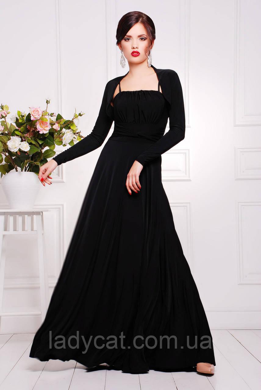 f006962dab01c10 Нарядное вечернее женское платье с юбкой солнце цвет черный, цена 910 грн.,  купить в Николаеве — Prom.ua (ID#671227967)