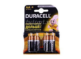 Батарейка DURACELL Basic R6/AA 1.5V LR6  блистер - 4шт. упаковка - 80шт.