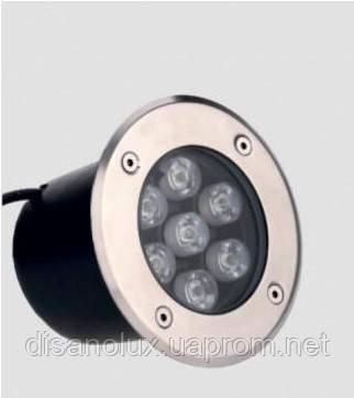Светильник грунтовый LM-988 LED 7W  230V размер  150мм*90мм  6500К IP67