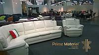 """Комплект кожаной мебели """"Бавария"""". Угловой диван и кресло"""