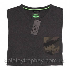 Футболка  KORDA FAUX POCKET TEE CHARCOAL