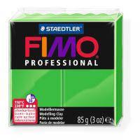 Пластика, полимерная глина, фимо Fimo Professional, ярко-зеленая, 85 грамм, Staedtler, 80045