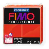 Пластика Professional, красная, 85 грамм, Fimo, 8004200