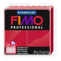 Пластика, полимерная глина, фимо Fimo Professional, карминовая, 85 грамм, Staedtler, 800429