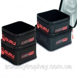 Набор кейс + контейнер для прикормки Guru Combo Fusion 400 + Bait Pro 300