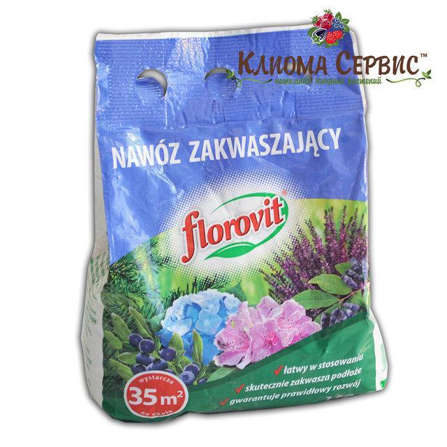 Флоровит подкисление без перегноя создает эффективную кислую среду