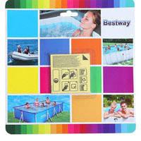 Ремкомплект для надувных изделий Bestway 62091 (подводная заплатка с клеем)