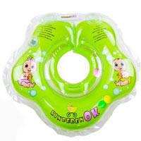 Круг для купания Зеленое Яблочко Baby Collection