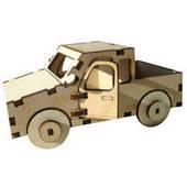Сборная деревянная модель Пикап (в сборе 13*6,5*8,5см)