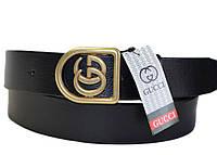 Кожаный ремень кожаный Gucci стильный аксессуар