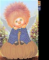 Схема вышивки для бисера Тыковка Ангел плодородия и достатка, фото 1