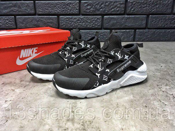 Женские кроссовки Supreme X Louis Vuitton X Nike Air Huarache Sneakers c0686bd310d