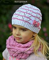 Шапка веер для девочки , фото 1