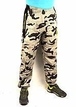 Спортивные штаны камуфляж под манжет , фото 3